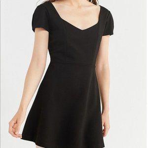 UO Maria Short Sleeve Ponce Mini Dress